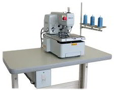 Button Hole Making Machine