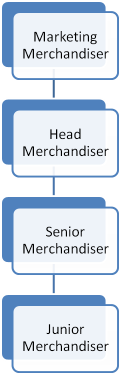 merchandise department structure