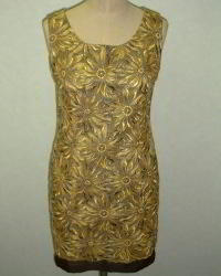 embroidery Formal Dress