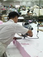 fabric spreading and cutting